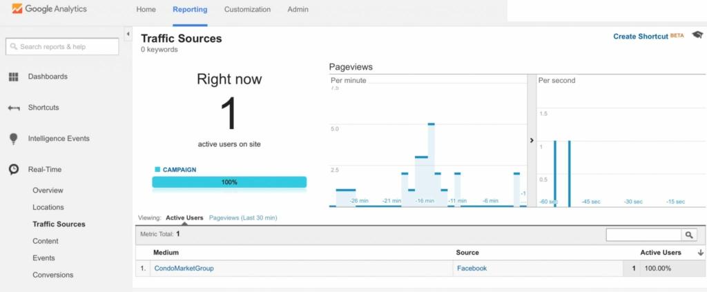 Traffic Source Google Analytics