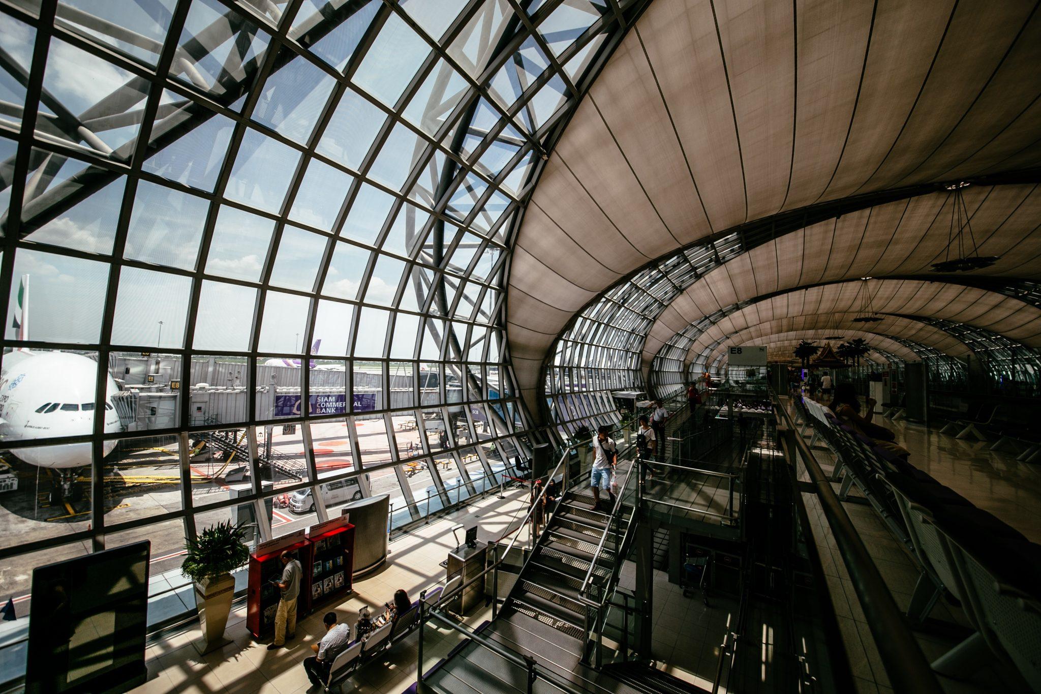 Suvarnabhumi Airport ประกันเดินทาง ประกันการเดินทาง ประกันเดินทางต่างประเทศ