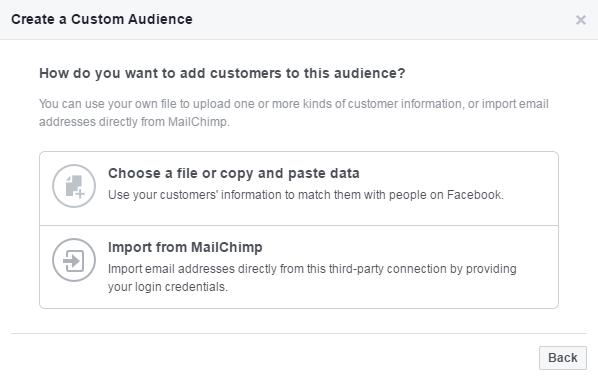 Create a custom Audience 02