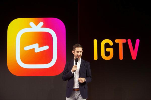 ข่าวการตลาด การตลาดออนไลน์ 22 June 2018 Instagram เปิดตัว IGTV