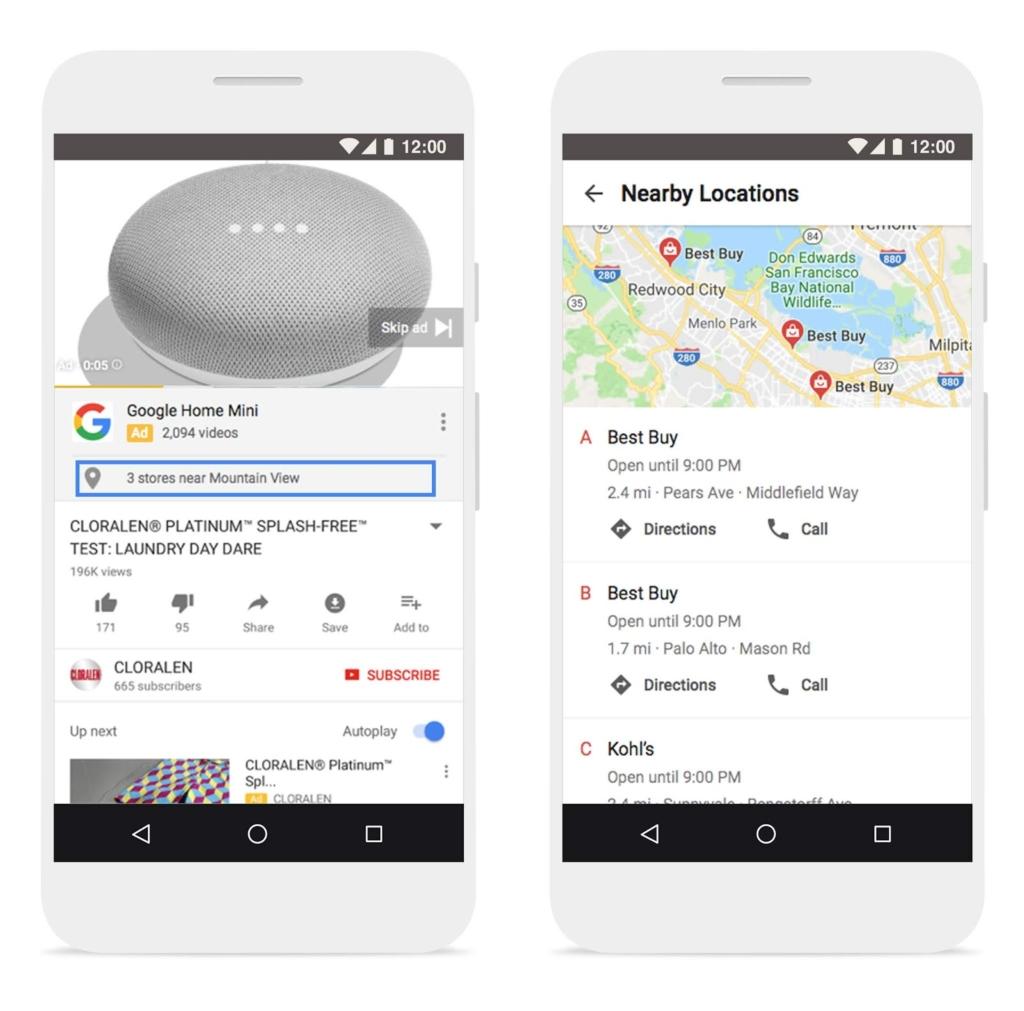 ข่าวการตลาด การตลาดออนไลน์ 15 June 2018 affiliate location extensions to video campaigns on YouTube