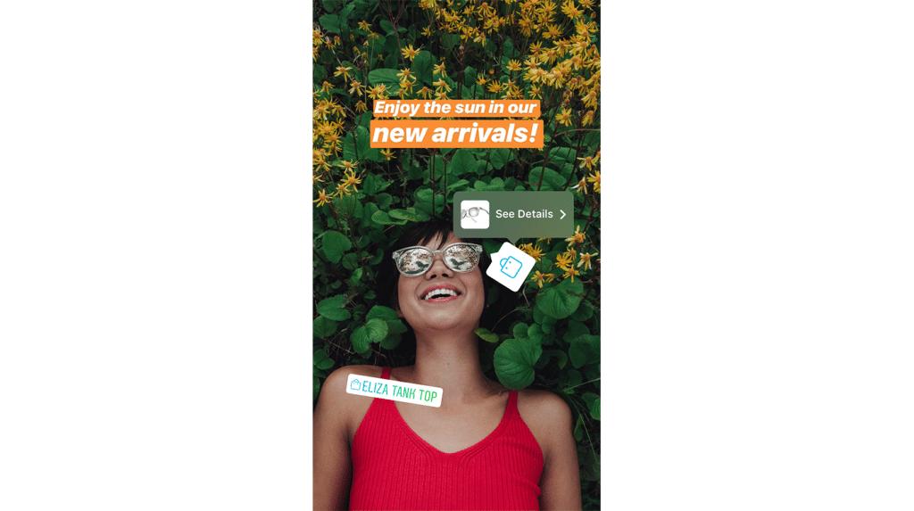 ข่าวการตลาด การตลาดออนไลน์ 15 June 2018 Bringing Shopping to Instagram Stories